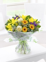 Spring Sunshine Hand-tied