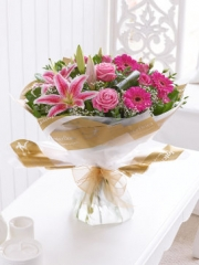 Pink Radiance Hand-tied