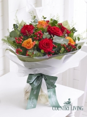 Country Living Scarlet Splendour Hand-tied